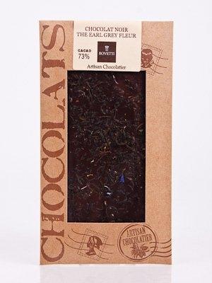 Ciocolata Bovetti 25g Neagra Earl Grey
