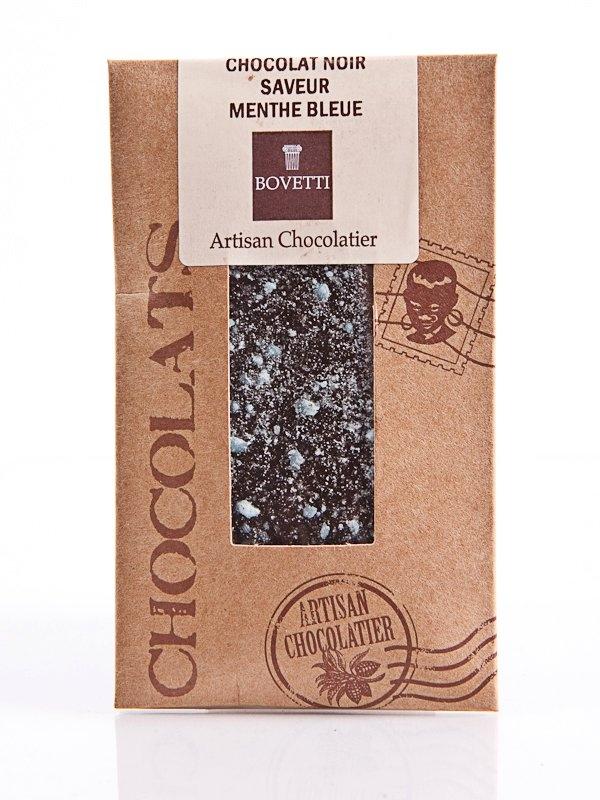 Ciocolata Bovetti 25g Neagra menta Cr