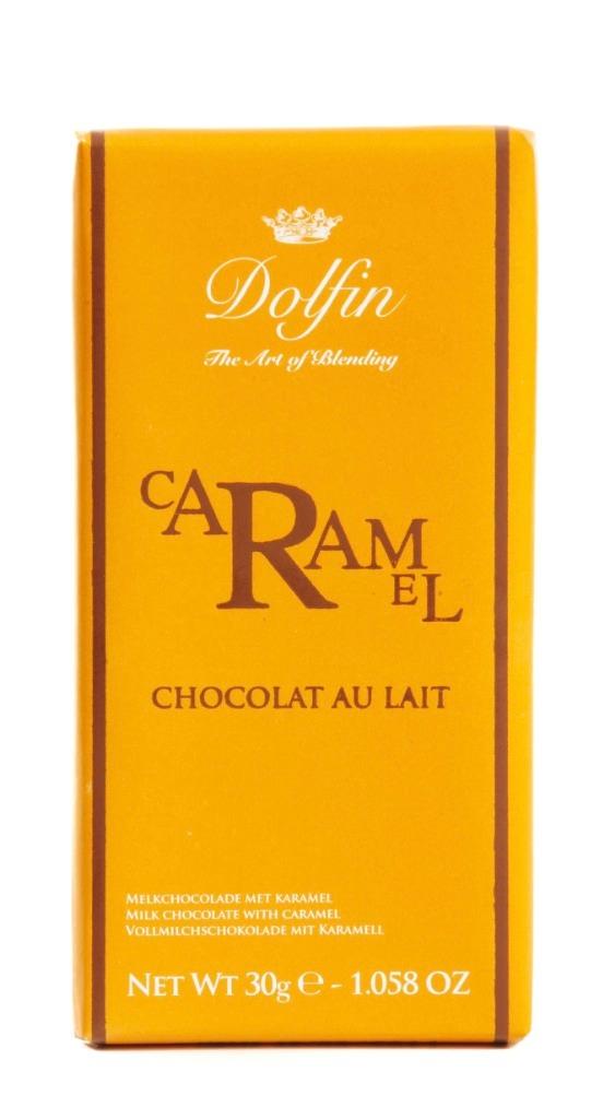 Ciocolata Dolfin 30g caramel si unt