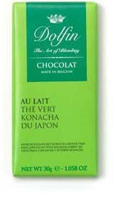 Ciocolata Dolfin 30g Ceai Verde Konacha