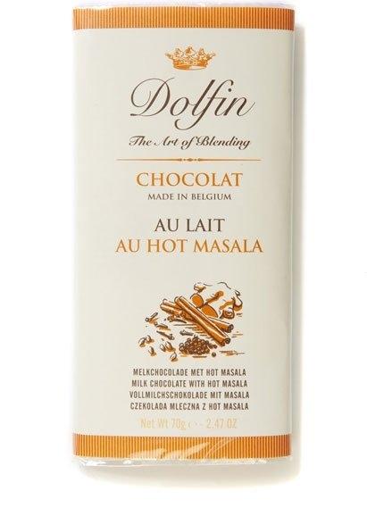 Ciocolata Dolfin 70g Lapte Hot Masala