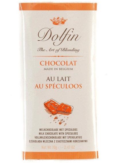 Ciocolata Dolfin 70gLapte Biscuiti Spec.