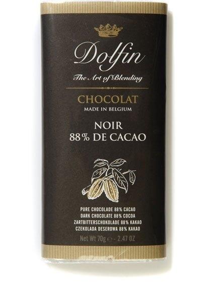 Ciocolata Dolfin 70g Neagra 88%