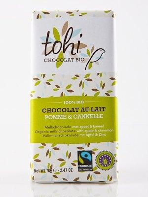 Ciocolata Tohi 70g Lapte , Mar & Scortisoara