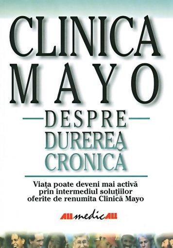 MAYO~DESPRE DUREREA CRONICA