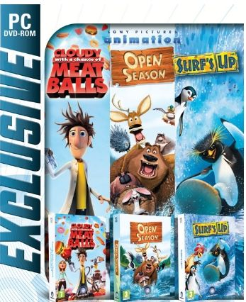 CLOUDY & OPEN SEASON & SURFS UP EXCLUSIVE - PC