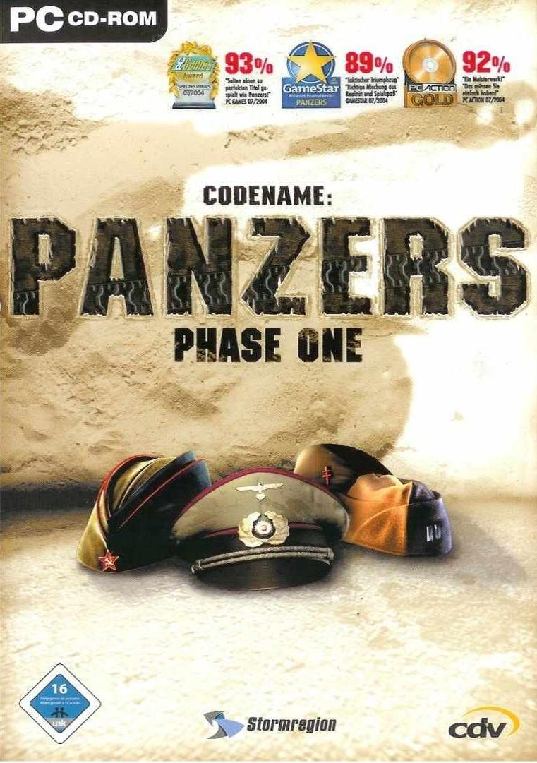 CODENAME PANZERS PHASE ONE - PC