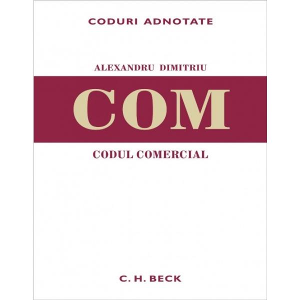 CODUL COMERCIAL ADNOTAT