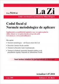 CODUL FISCAL SI NORMELE METODOLOGICE DE APLICA