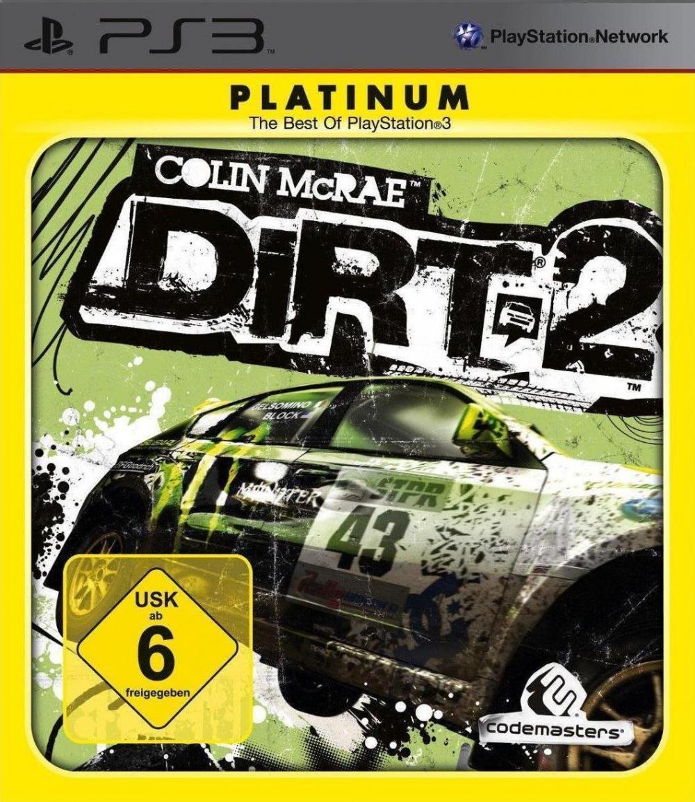 COLIN MCRAE: DIRT 2 PLA PS3