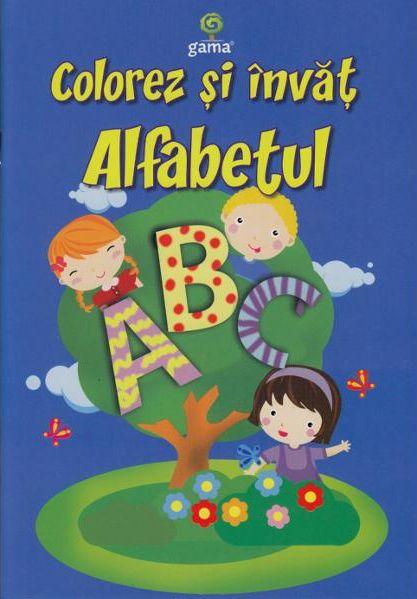 COLOREZ SI INVAT ALFABETUL/ COLORAT A5.12