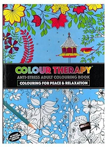 COLOUR THERAPY CARTE DE COLORAT 88 PG A4 PAG HARD COVER