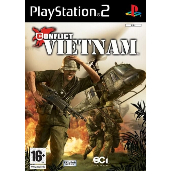CONFILCT VIETNAM PS2