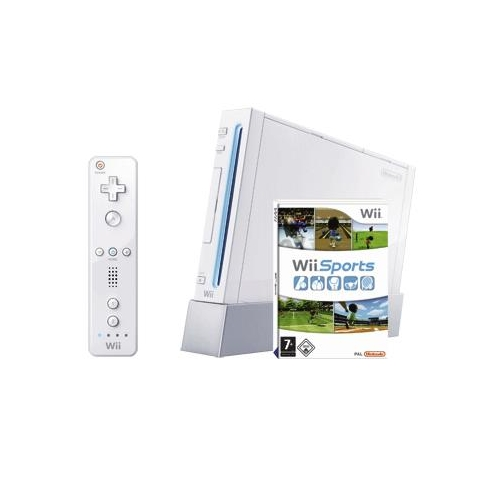 CONSOLA WII SPORTS RESORT PAK WHITE