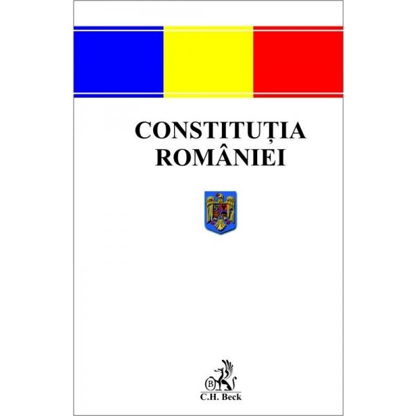 CONSTITUTIA ROMANIEI EDITIA 2