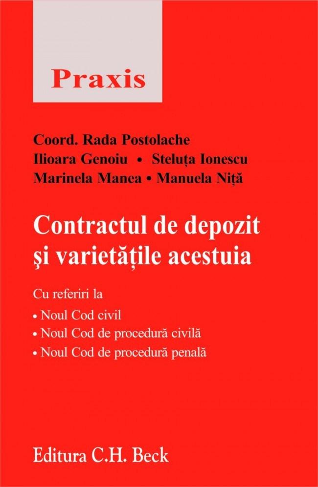 CONTRACTUL DE DEPOZIT S I VARIETA