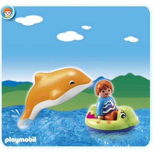 zzCopil cu delfin
