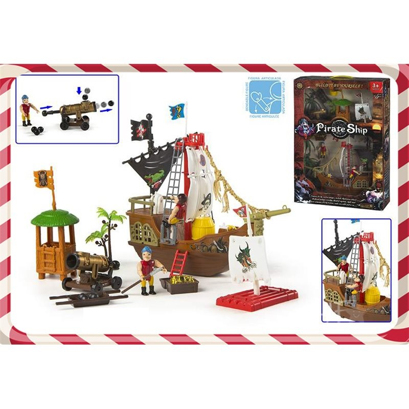 Corabia piratilor,set,ColorBaby