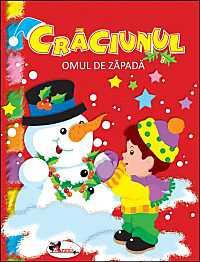 CRACIUNUL - OMUL DE ZAPADA ( CARTE DE COLORAT SI ACTIVITATI )