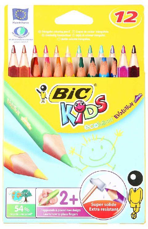 Creioane colorate,12b/s,Bic Evolution