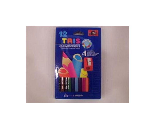 Creioane colorate,12b/set,jumbo,Morocolor