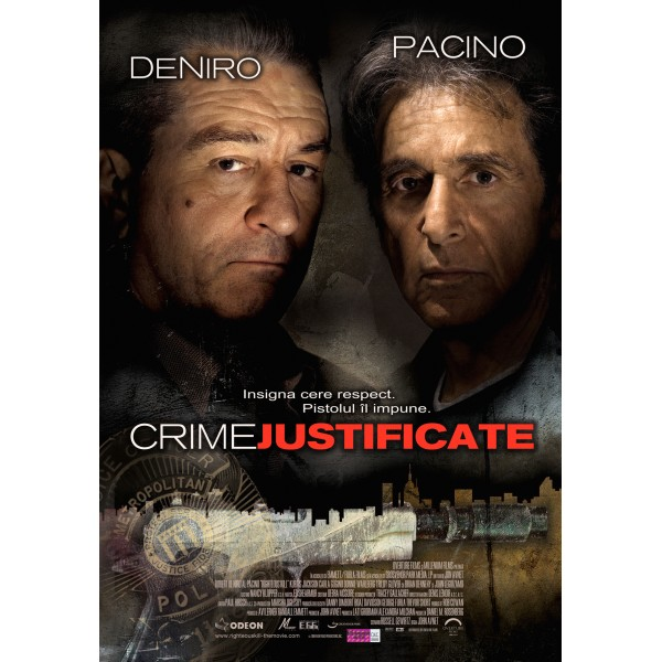 CRIME JUSTIFICATE RIGHTEOUS KILL