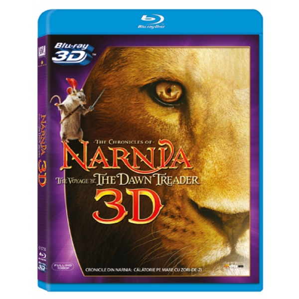 CRONICILE DIN NARNIA: CALATORIE PE MARE CU ZORI-DE-ZI  3D (BR) - THE CHRONICLES OF NARNIA: VOYA