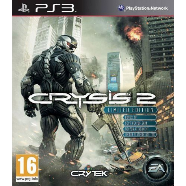 CRYSIS 2 LIMITED EDITIO PS3