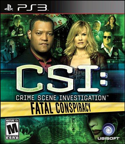 CSI 6 FATAL CONSPIRACY PS3