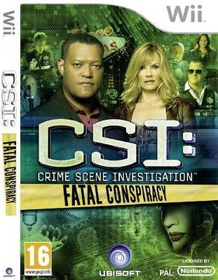 CSI 6 FATAL CONSPIRACY WII