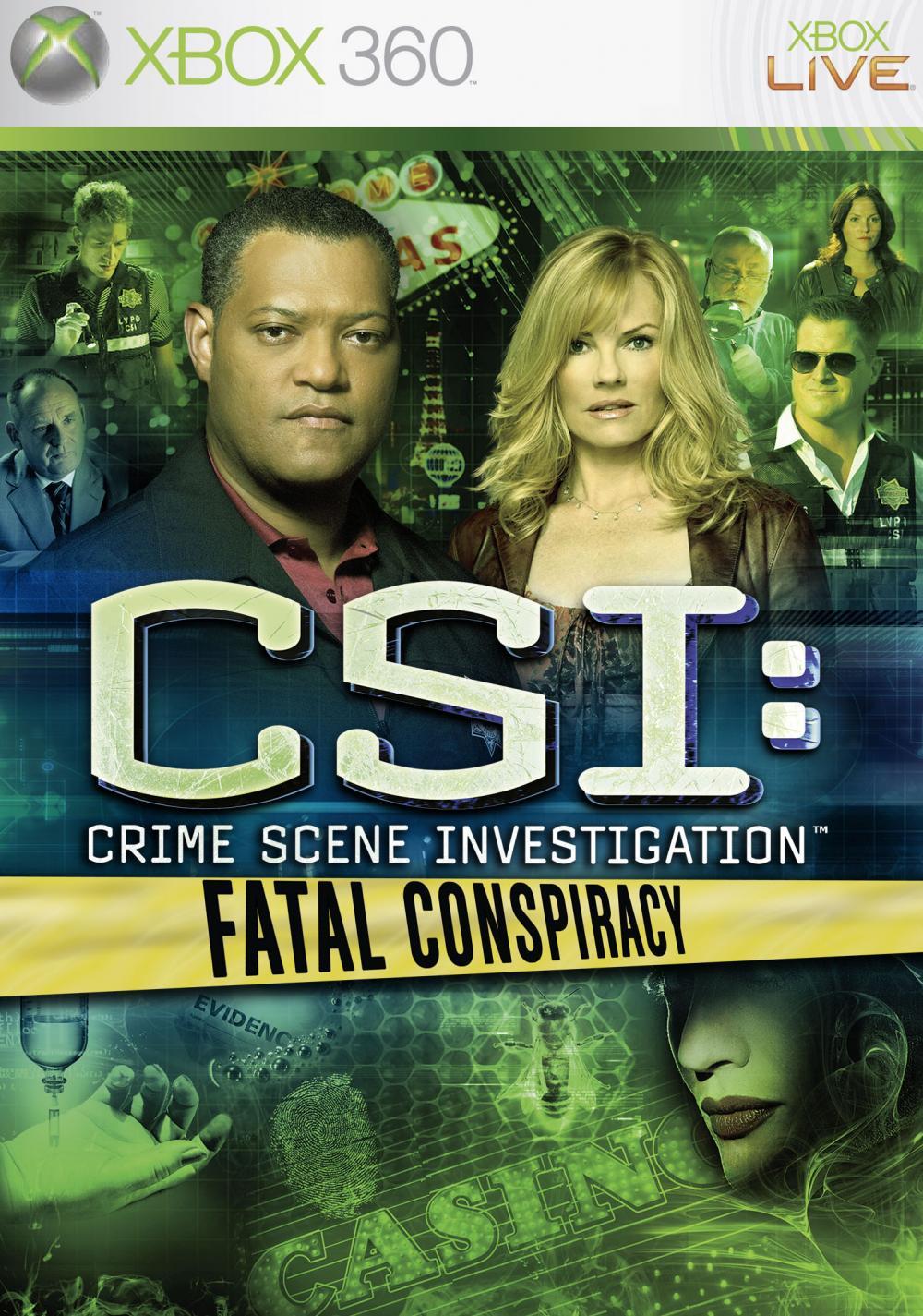 CSI 6 FATAL CONSPIRACY XBOX360