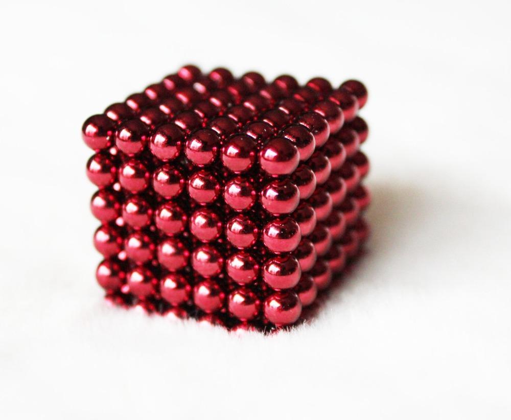 Cub magnetic puzzle,rosu