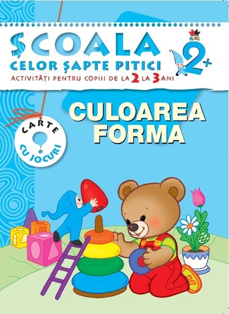 CULOAREA. FORMA 2-3 ANI