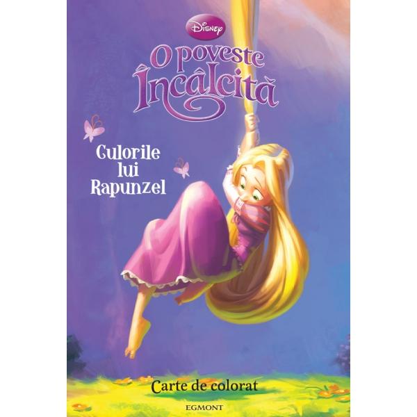 Culorile lui Rapunzel - Disney