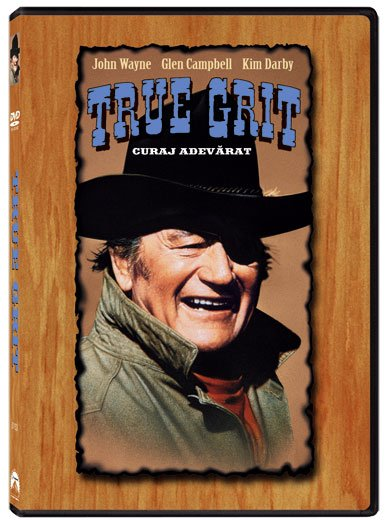 TRUE GRIT (1969) - CURAJ ADEVARAT (1969)