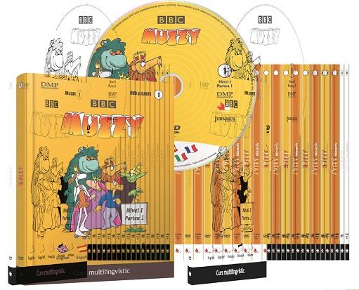 CURS MULTILINGVISTIC BBC 24 VOL + 12 CD + 12 DVD