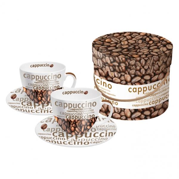Cutie cesti cappucino Caffe Gusto