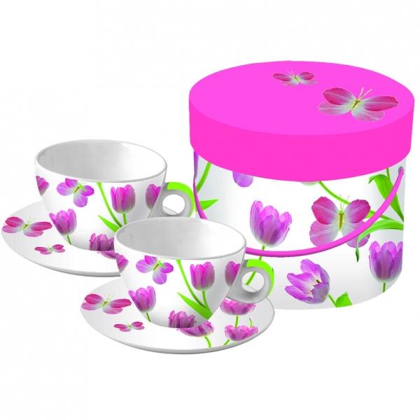 Cutie cesti cappucino Tulip Toss