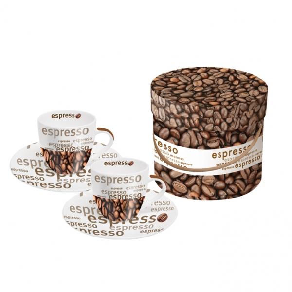 Cutie cesti espresso Caffe Gusto