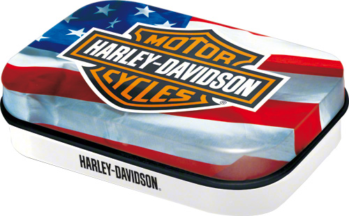 CUTIE MICA CU BOMBOANE HARLEY-DAVIDSON USA LOGO