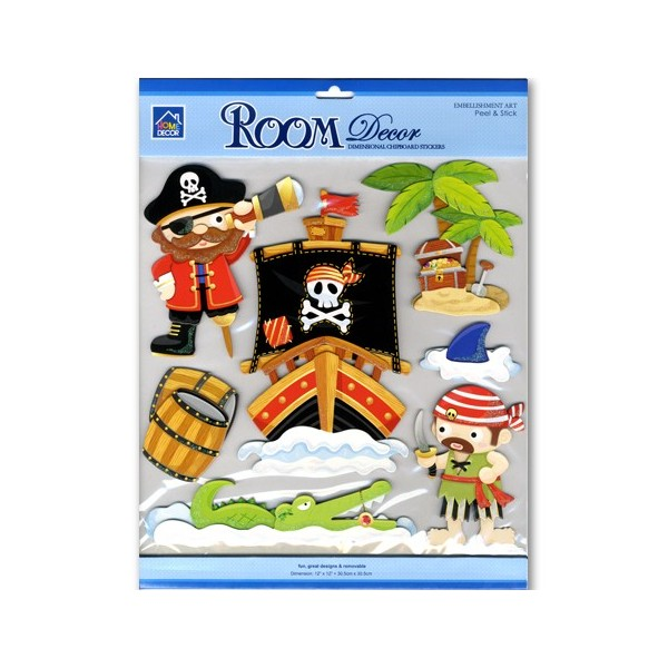 Decor camera CBA pirati