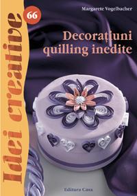 DECORATIUNI QUILLING - IDEI CREATIVE NR. 66