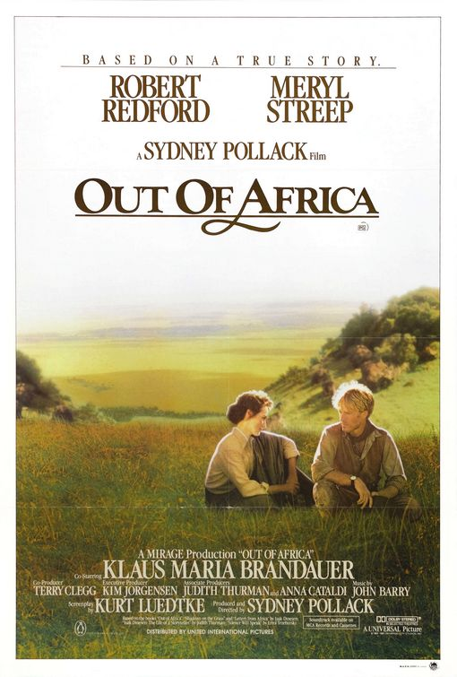 DEPARTE DE AFRICA OUT OF AFRICA