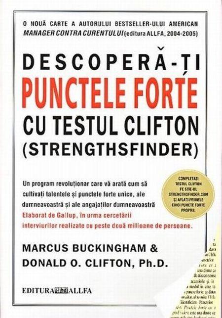 DESCOPERA-TI PUNCTELE FORTE CU TESTUL CLIFTON