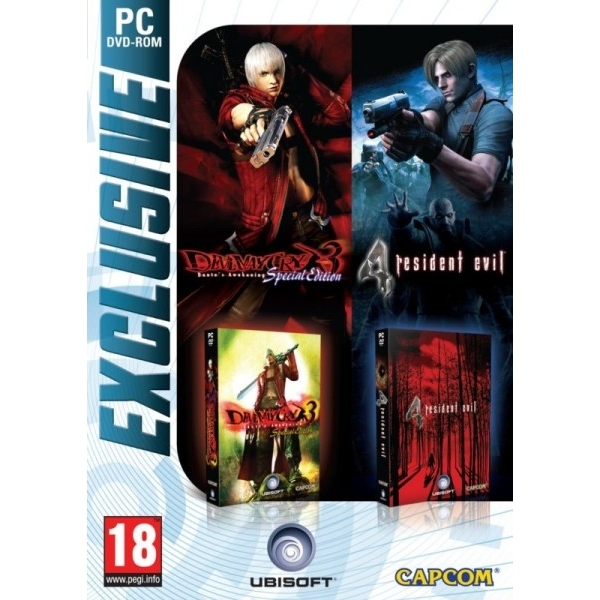 DEVIL MAY CRY 3 & RESID PC
