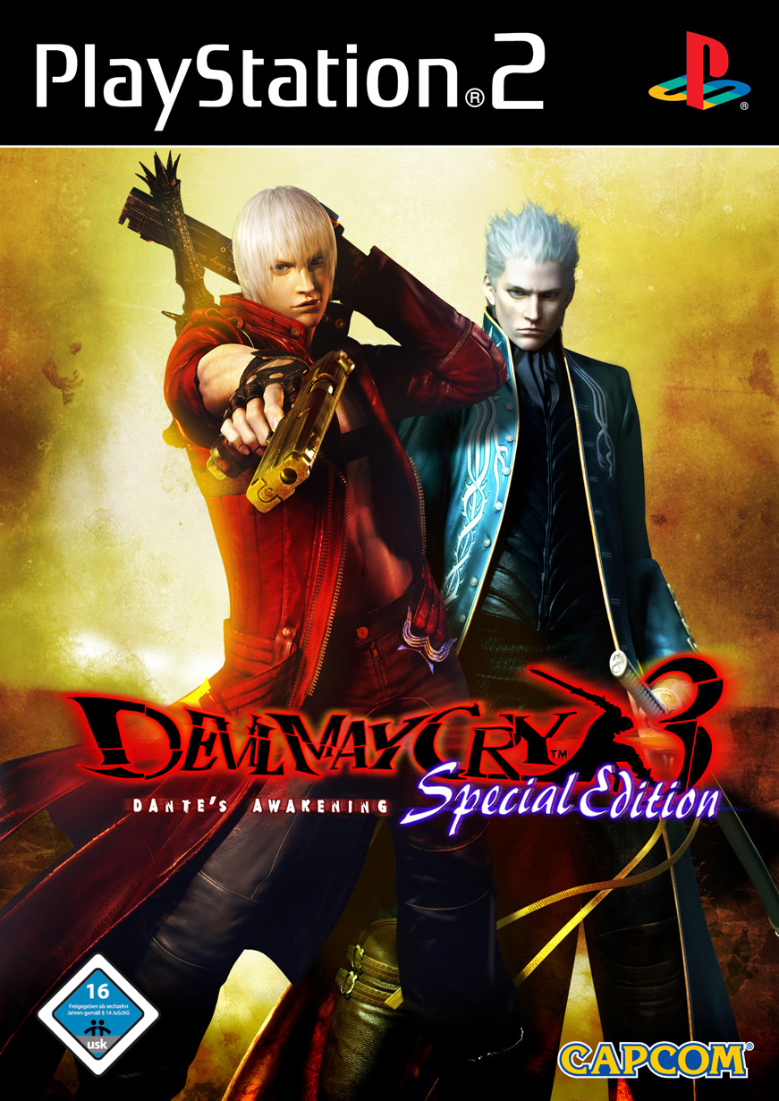 DEVIL MAY CRY & DEVIL M PS2