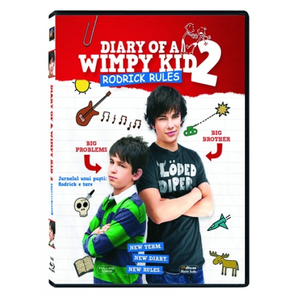 DIARY OF A WIMPY KID 2 - JURNALUL UNUI PUSTI: RODRICK E TARE