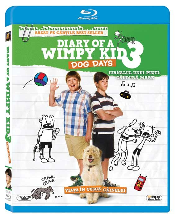 DIARY OF A WIMPY KID 3: DOG DAYS BR