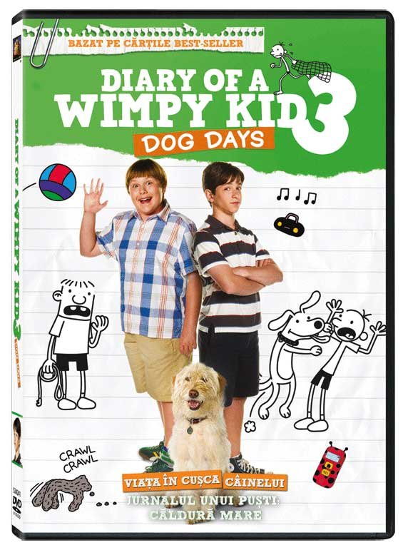 DIARY OF A WIMPY KID 3: DOG DAYS DVD