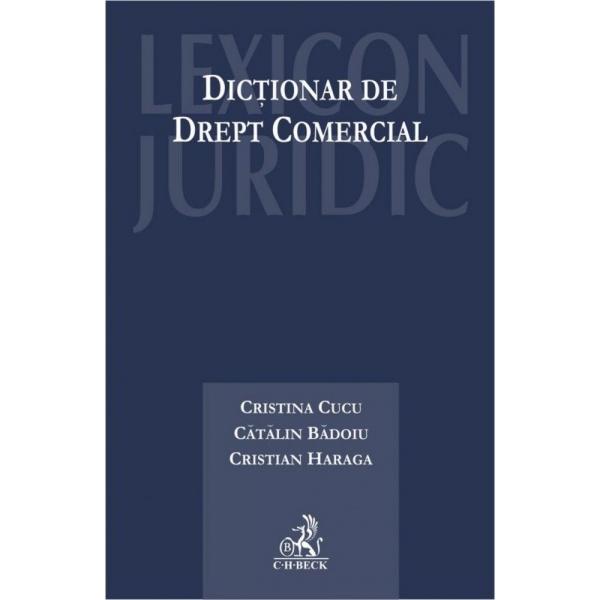 DICTIONAR DE DREPT COMERCIAL